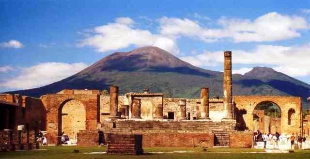 pompeya1 - Los templos de Pompeya estaban alineados con las estrellas