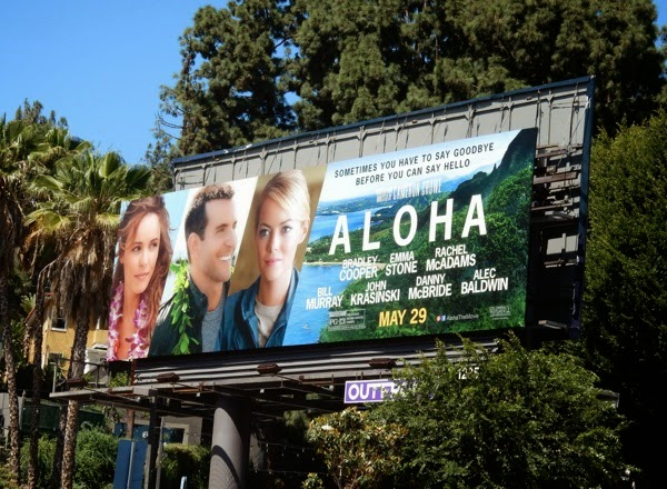 Aloha movie billboard