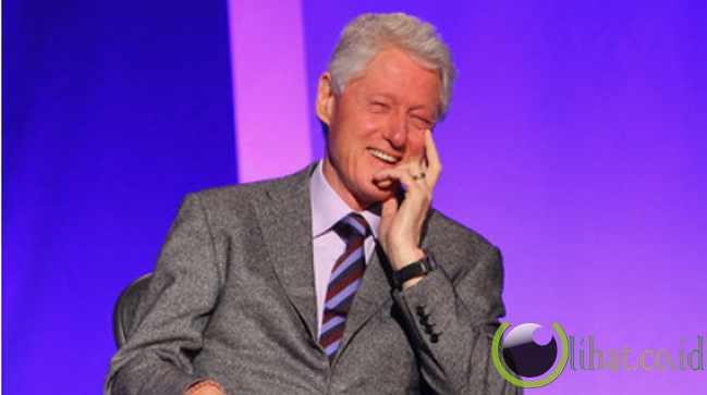 1. Bill Clinton