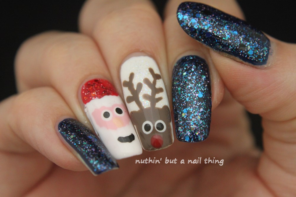 nuthin\' but a nail thing: 40 Great Nail Art Ideas - Christmas