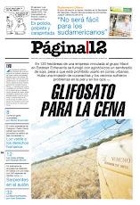 Laguna de Rocha tapa en Página 12 (26/12/2011)