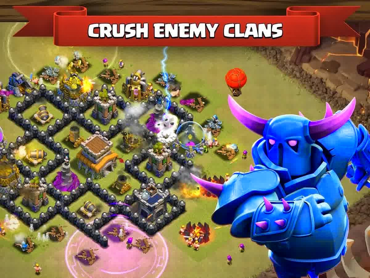 Clash of Clans v6.407.8 Apk