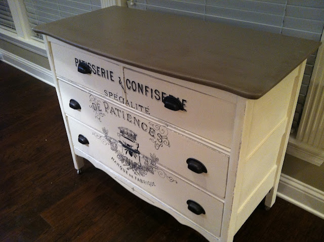 100 year old farm dresser, annie sloan chalk paint, diy, fleur4her, palace in wonderland