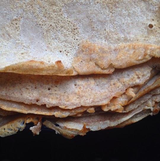 Naleśniki bezglutenowe z mąki gryczanej