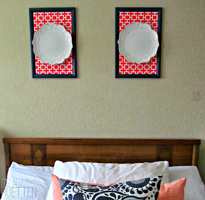 How to make 'Framed' Plates | It's Always Ruetten