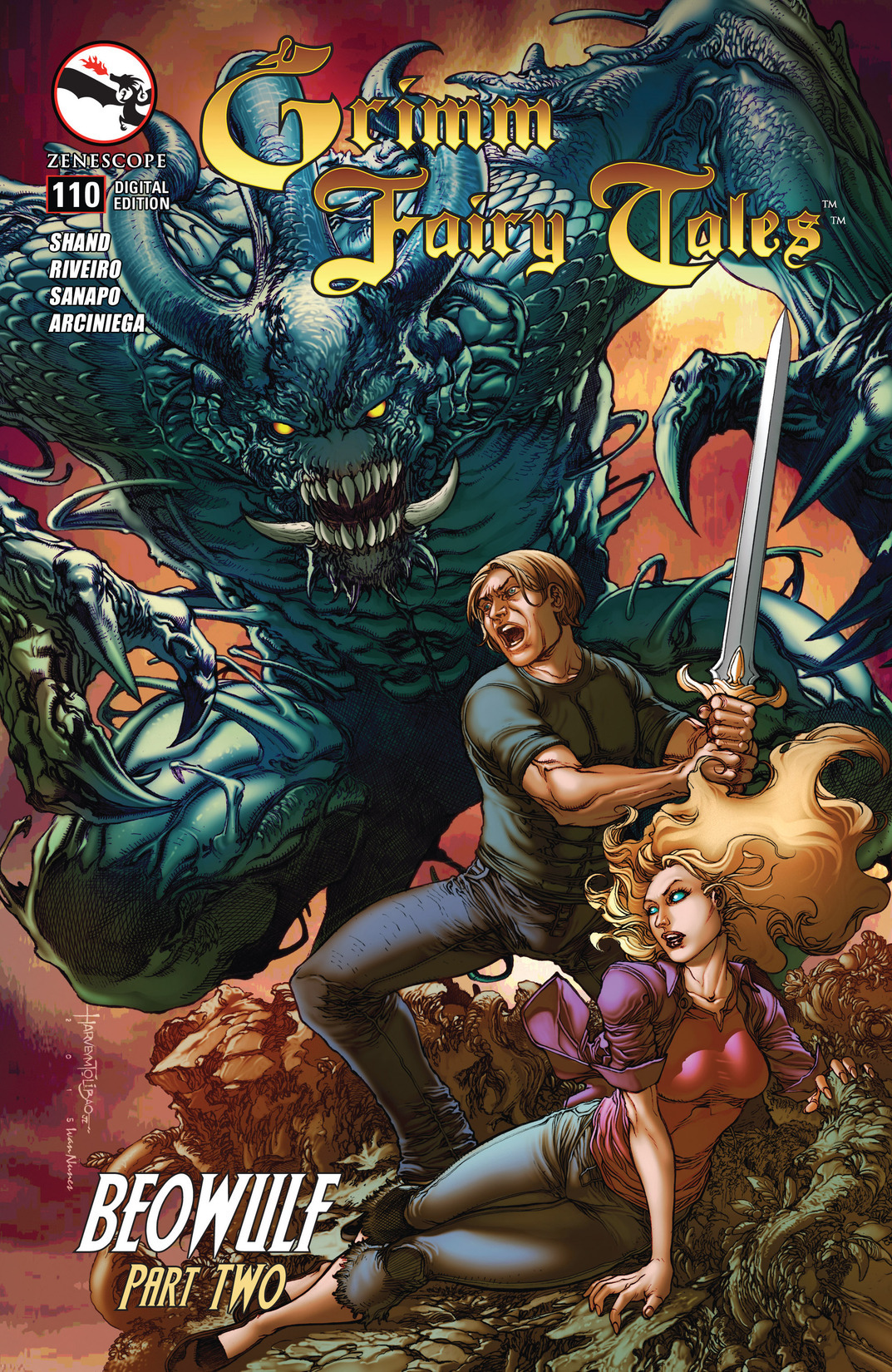 Grimm Fairy Tales (2005) Issue #110 #113 - English 1