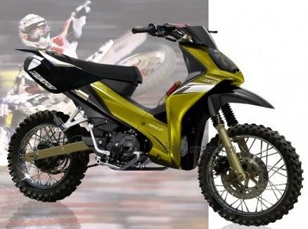 6 Variasi Modifikasi Motor Honda Absolute Revo - Variasi