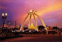 Brunei Jerudong crystal