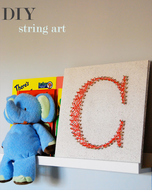 headline in DIY: Initial String Art and diy projects