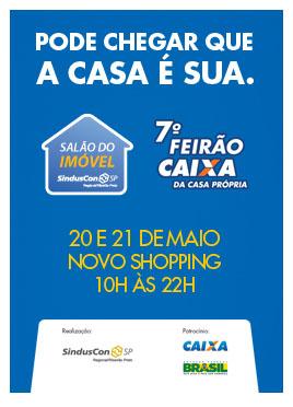 Coletiva apresenta Salão do Imóvel e Feirão CAIXA da Casa Própria