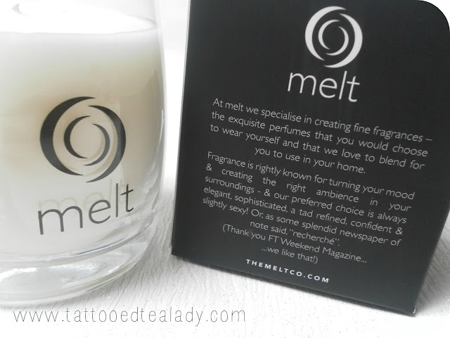 A picture of Melt Candle Co Saddle Candle