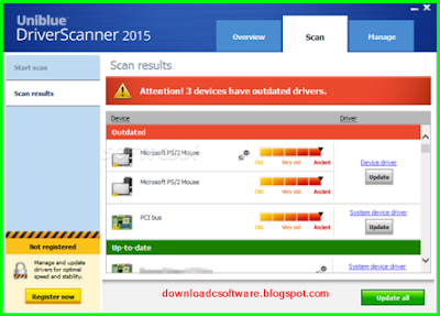 uniblue driver scanner 2013 serial key or activation license code