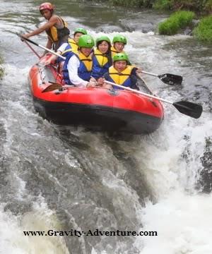 Sungai Palayangan Lokasi Outbound di Pangalengan