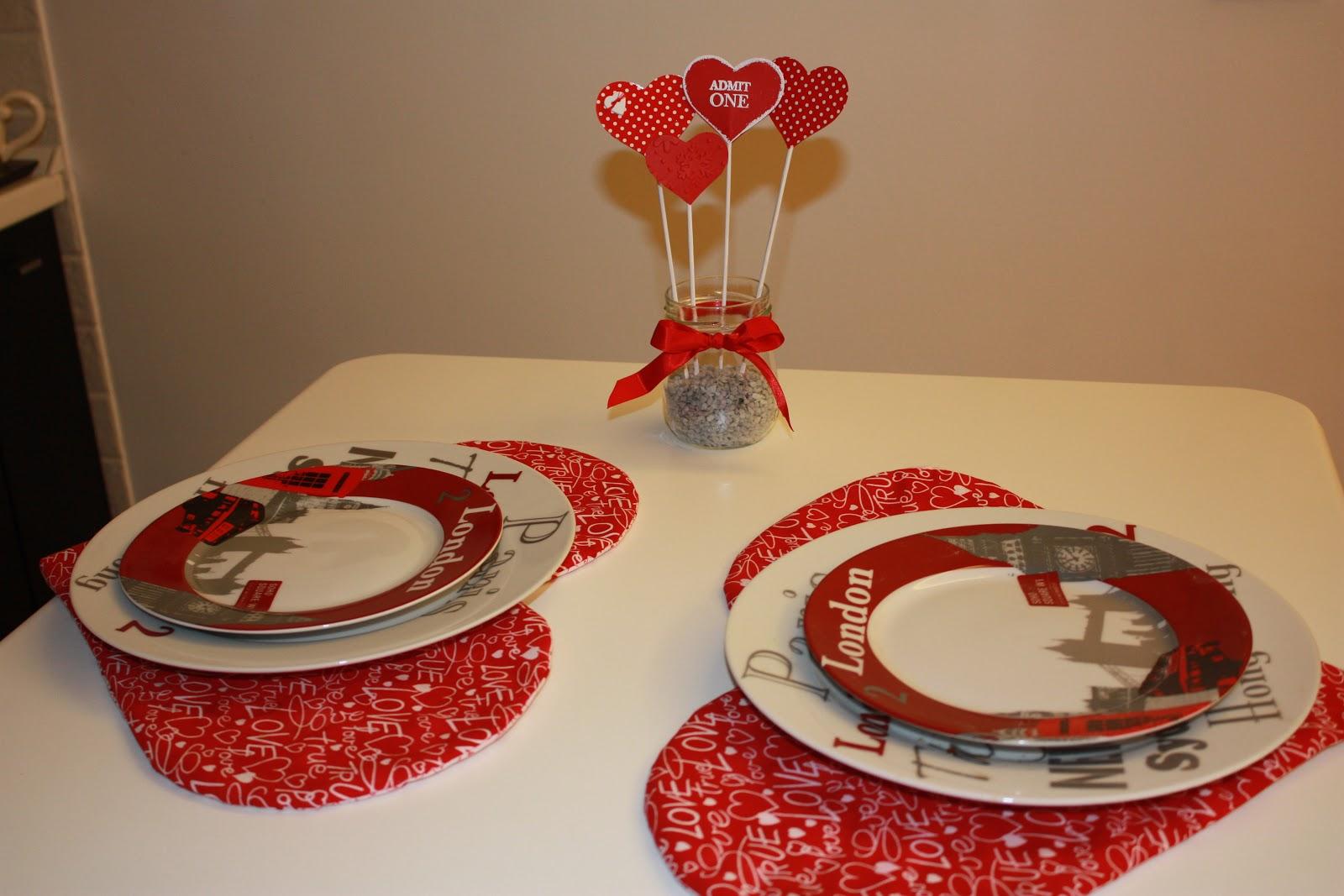 Believe c 39 l 39 amore a cena - Tavola di san valentino ...