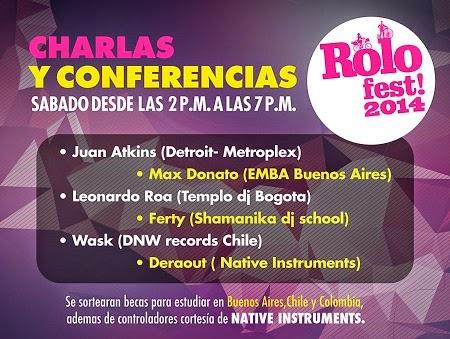 Charlas y conferencias Rolo Fest 2014