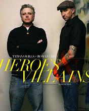 <i>HEROES &amp; VILLAINS</i>