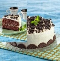 Resep Cake Coklat Oreo