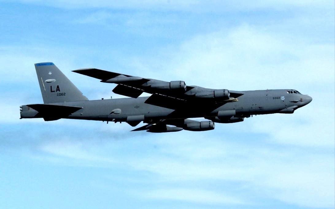 B-52 Stratofortress Bomber Aircraft Wallpaper 1
