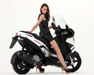 Launched Aprilia SR Max