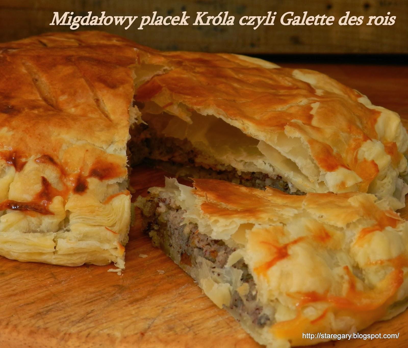 Migdałowy placek Króla czyli Galette des rois