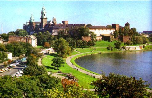 Colina de Wawel en Cracovia