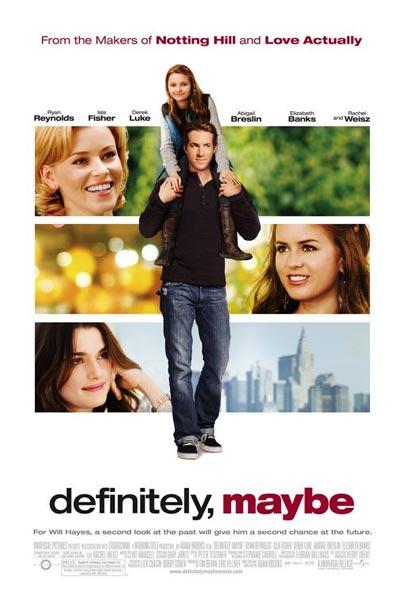 Definitivamente, tal vez ( HD 720P y español Latino 2008) poster box cover