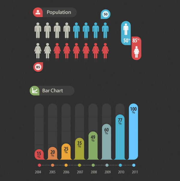 elementos infografia gratis