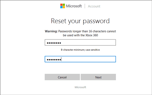 reset Windows 10 Microsoft account password free
