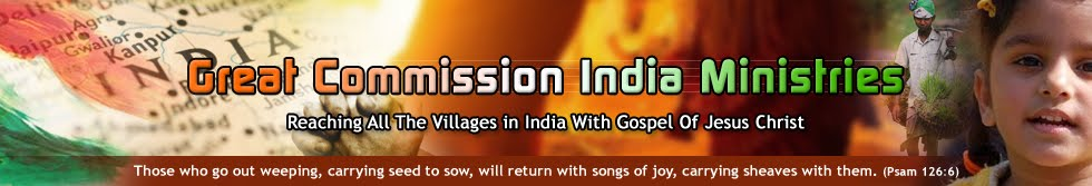 GREAT COMMISSION INDIA MINISTRIES