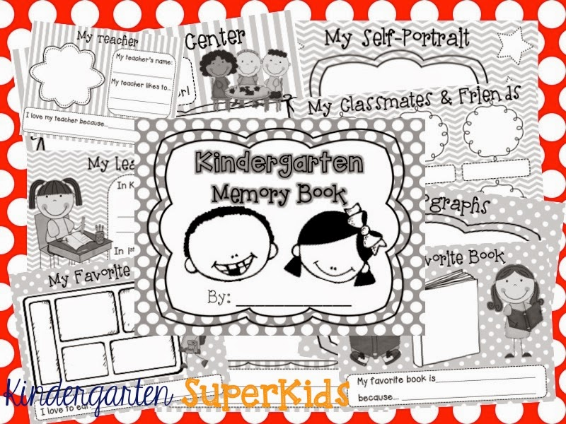 http://www.teacherspayteachers.com/Product/Kindergarten-Memory-Book-1256675