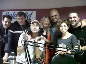 El 30/11/2012 en Radio Splendid festejamos la declaración de la Yerba Mate como Infusión Nacional