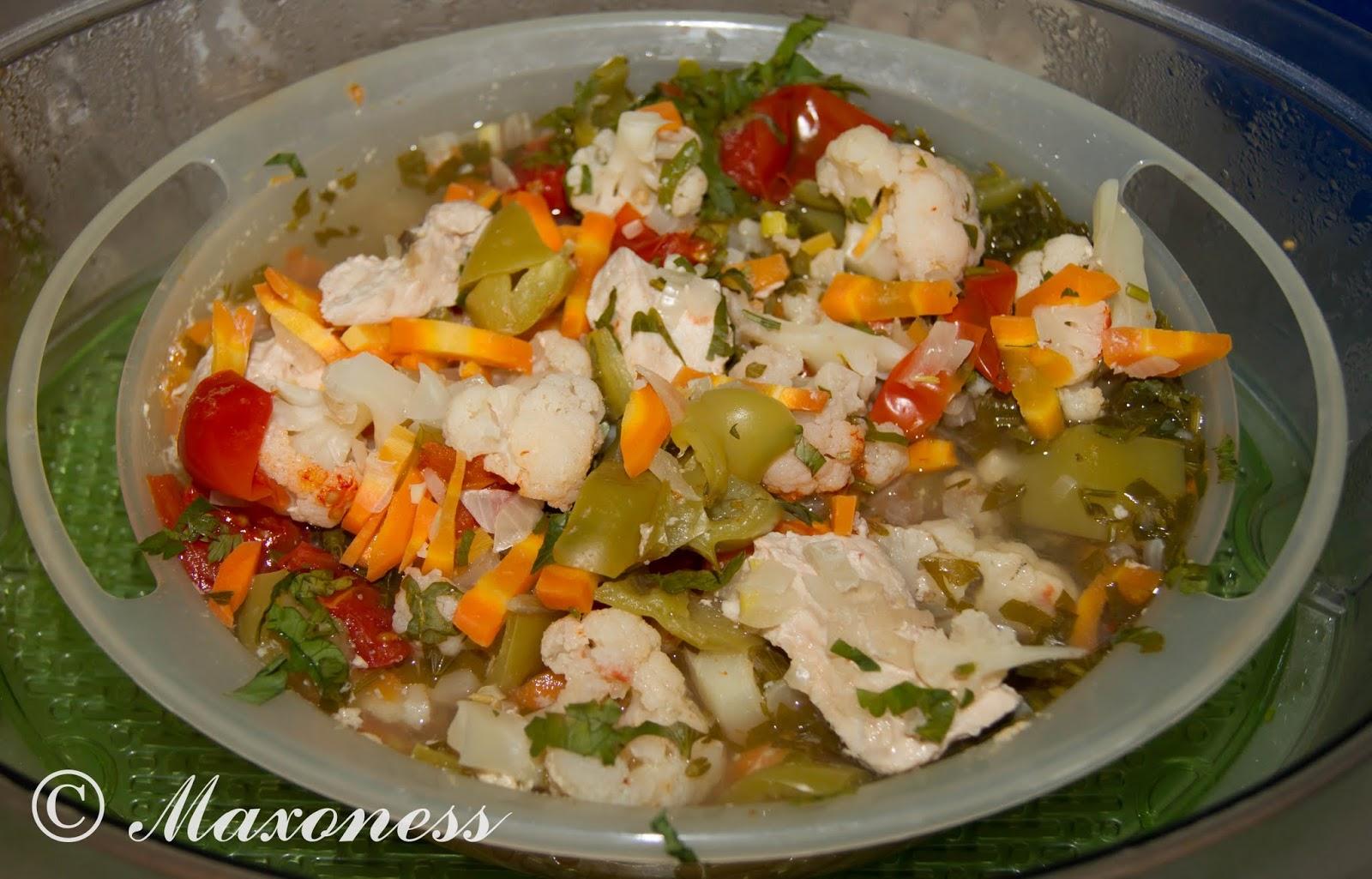 Рагу из цветной капусты пошаговый рецепт
