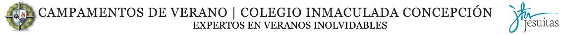 Campamentos de Verano | Colegio Inmaculada Concepción