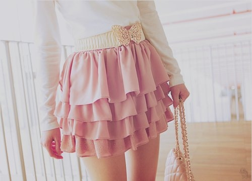 bag bow cute fashion pastel