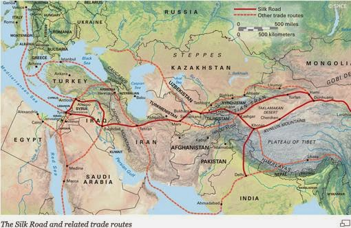 G6 myp individuals societies 1st century trade the map shows the silk road that links the west to the east the silk road connects to many other routes and the silk road becomes the silk route publicscrutiny Image collections
