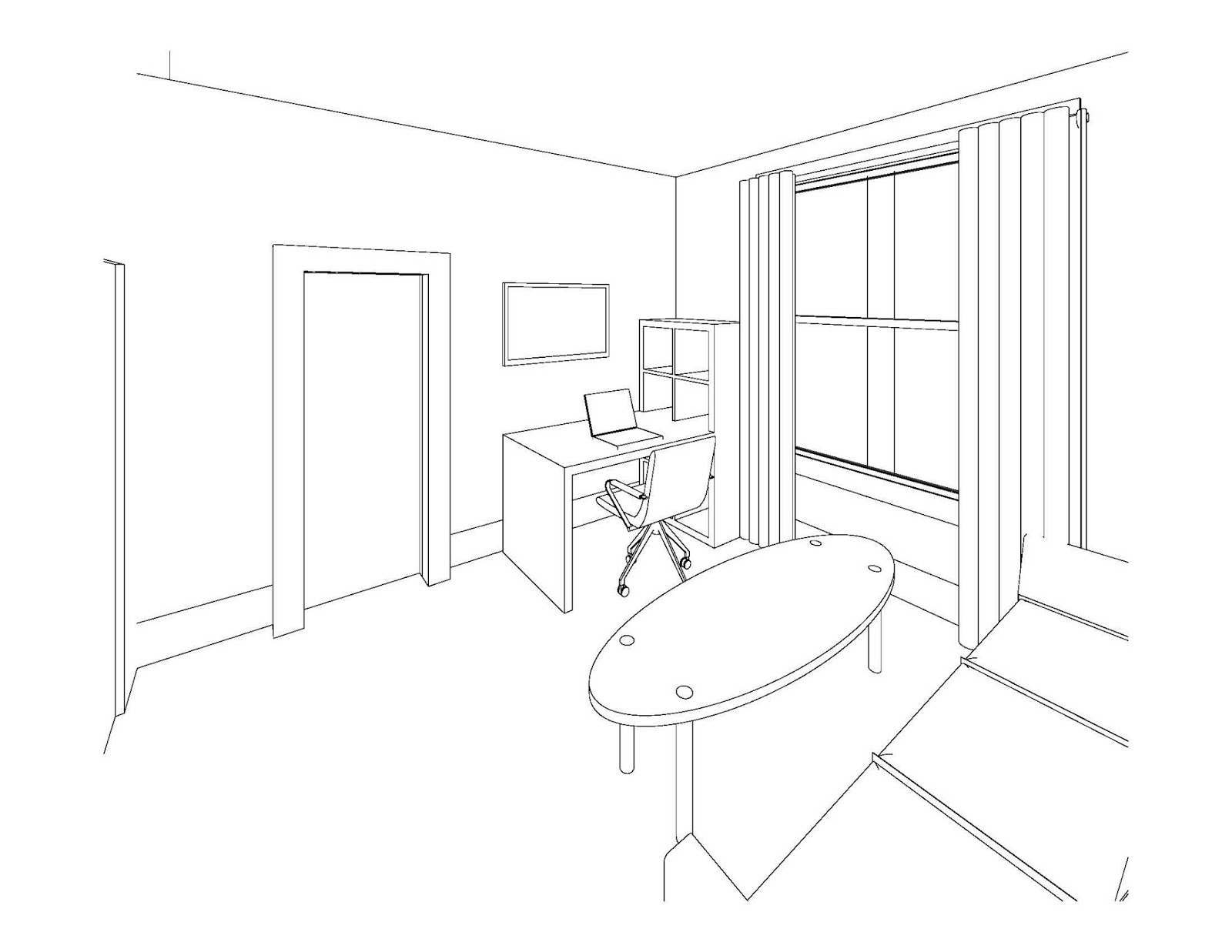 How to draw a 3d bedroom step by bedroom review design for 3d bedroom drawing
