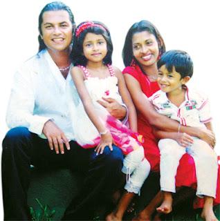 Niroshan Wijesighe family
