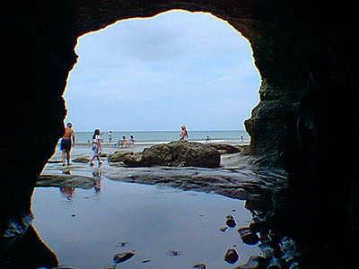las grutas argentina playa
