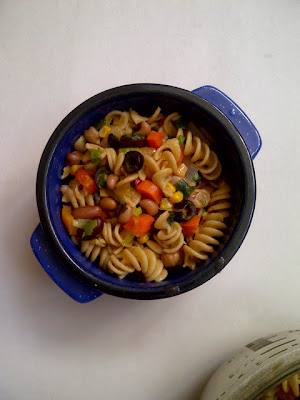 Soliloquy of Food: Confetti Pasta & Beans