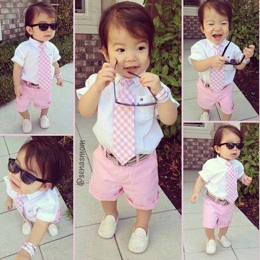 crianças da moda