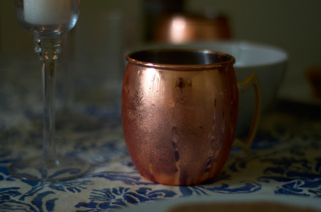 Settling in with moscow mules