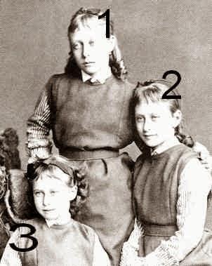 Victoria, Elisabeth et Irene de Hesse et du Rhin