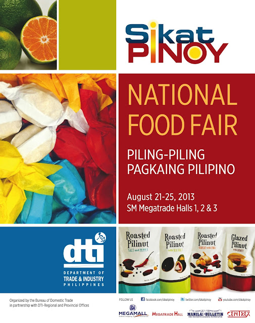 Sikat Pinoy National Food Fair 2013