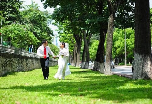 chụp ảnh cưới ngoại cảnh đẹp ở Hà nội7