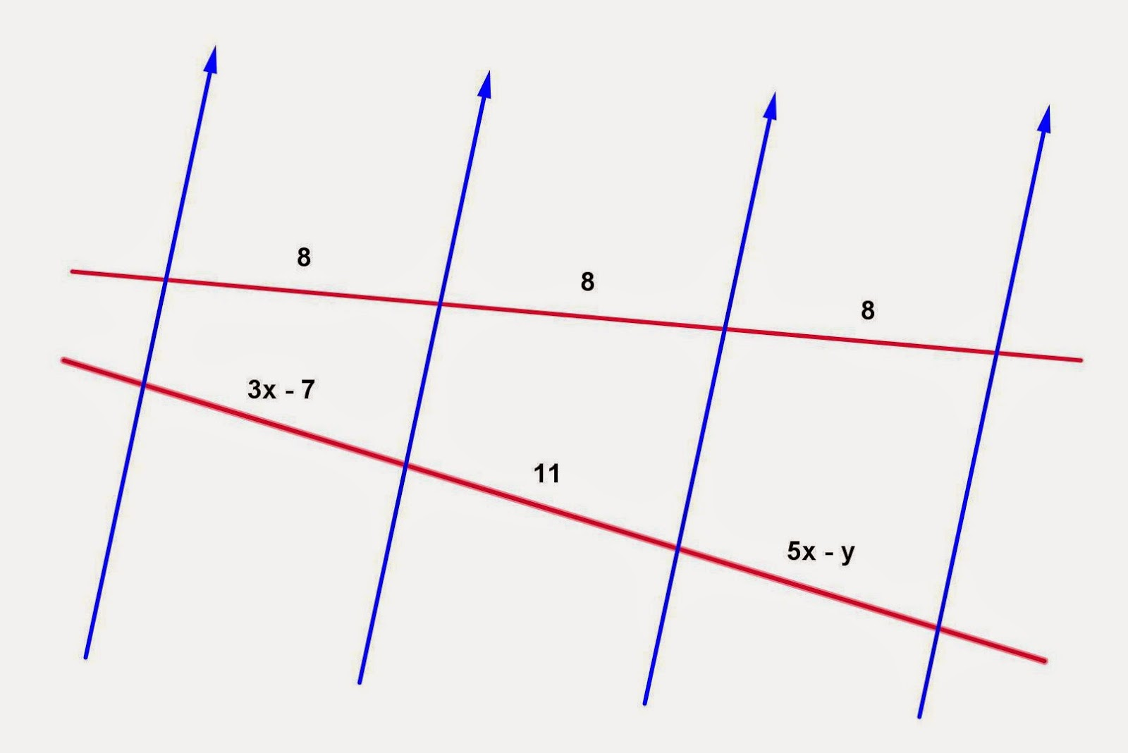 Math Principles: Parallel Lines Problems