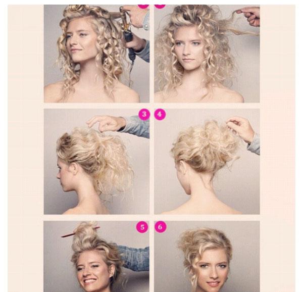 Sanggul-mode-modern-model-rambut-untuk-wajah-model-gaya-tren-artis