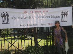 ENTREVISTA PARA ARTI SANAT EN ESTAMBUL