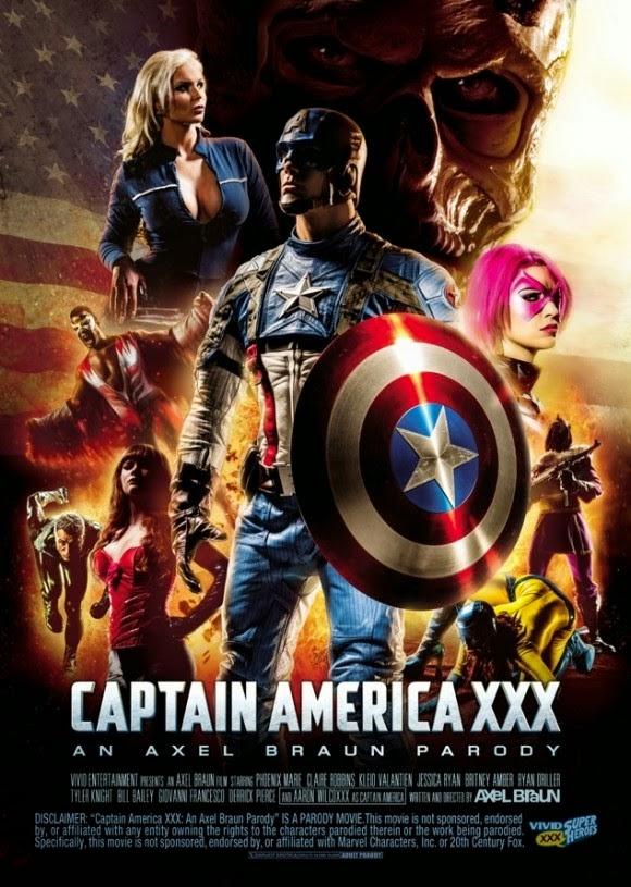 Captain america XXX porn parody