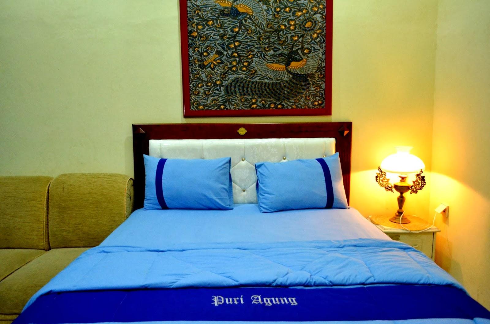 Hotel Puri Agung Ungaran Penginapan Bangunan Joglo Jawa Kamar Nyaman Gambar Kolam Renang Nuansa Arsitektur Alat Musik Gamelan Eksterior