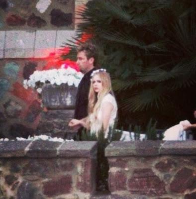 Avril Lavigne Matrimonio 2013